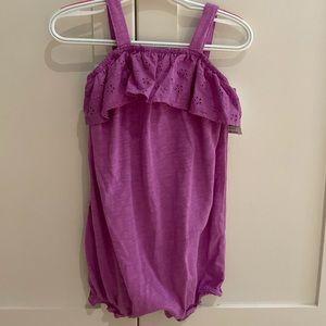 NWT🏷 Purple Lace Romper